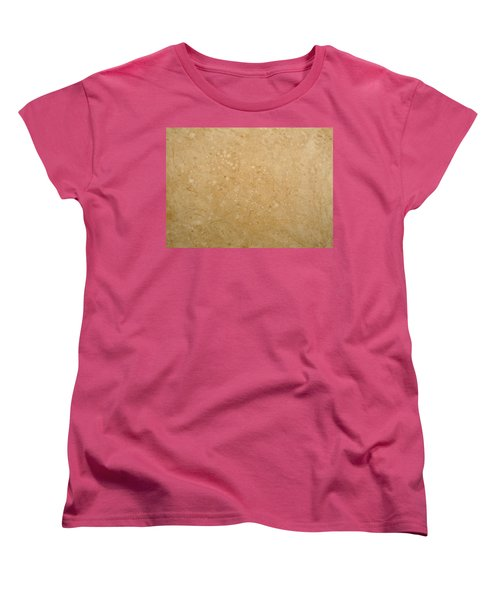 Women's T-Shirt (Standard Cut) featuring the painting Minimal Number 5 by James W Johnson