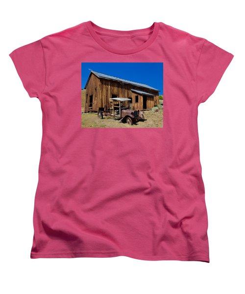 Women's T-Shirt (Standard Cut) featuring the photograph Mining Relic by Todd Kreuter