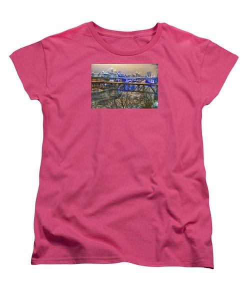 Minneapolis Bridges Women's T-Shirt (Standard Cut) by Craig Voth