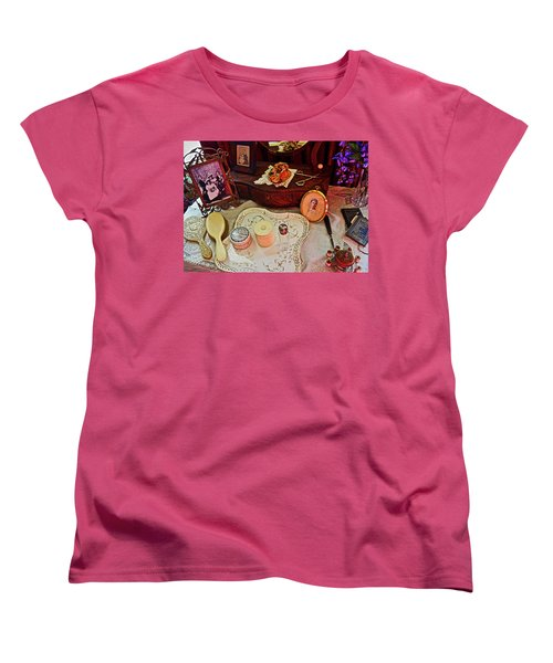 Miss Mary's Table. Women's T-Shirt (Standard Cut) by Joan Reese