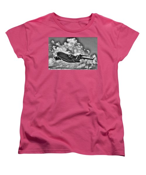 Mission-strategic Airlift Women's T-Shirt (Standard Cut) by Douglas Barnard