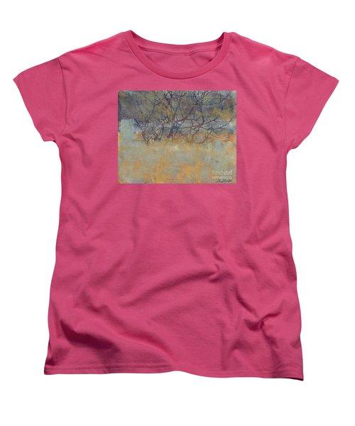 Misty Trees Women's T-Shirt (Standard Cut)