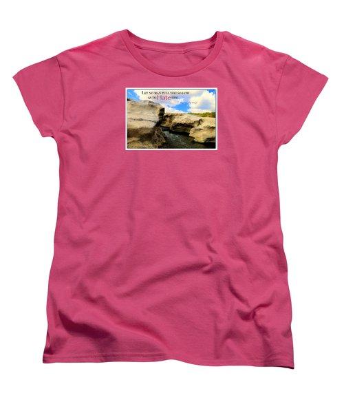 Women's T-Shirt (Standard Cut) featuring the photograph Mlk 1 by David Norman