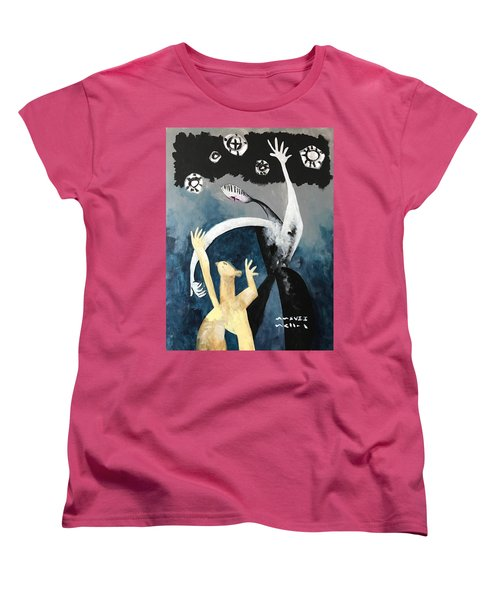 Mmxvii The Ascension No. 2  Women's T-Shirt (Standard Cut)