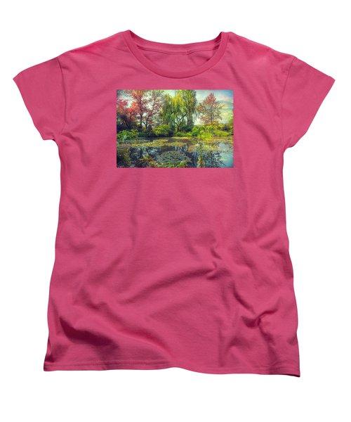 Monet's Afternoon Women's T-Shirt (Standard Cut) by John Rivera