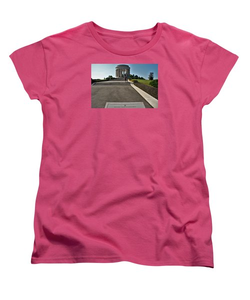 Women's T-Shirt (Standard Cut) featuring the photograph Montsec American Monument by Travel Pics