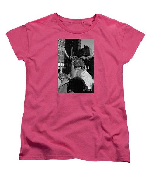 Moondog Nyc Tom Wurl Women's T-Shirt (Standard Cut) by Tom Wurl