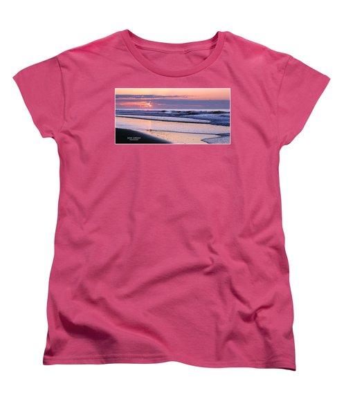 Morning Calm Women's T-Shirt (Standard Cut) by John Loreaux
