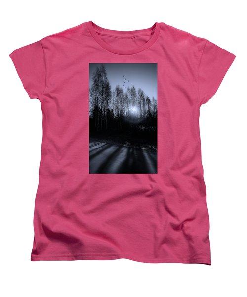 Morning Glow Women's T-Shirt (Standard Cut) by Rose-Marie Karlsen