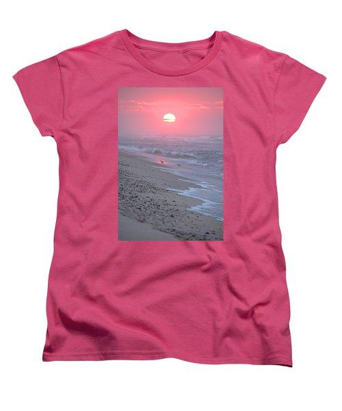 Women's T-Shirt (Standard Cut) featuring the photograph Morning Haze by  Newwwman