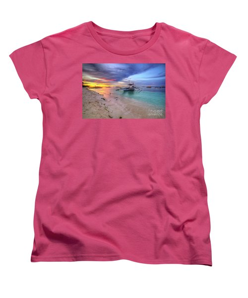 Women's T-Shirt (Standard Cut) featuring the photograph Morningtide 2.0 by Yhun Suarez