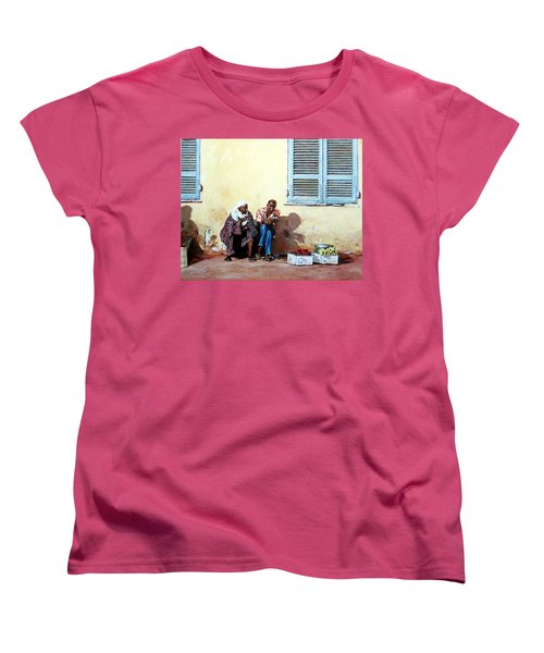Morocco Women's T-Shirt (Standard Cut) by Tim Johnson