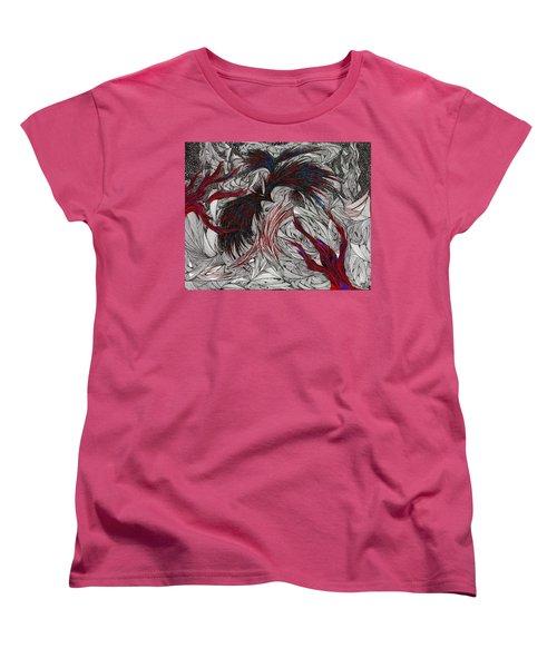 Morpheus Women's T-Shirt (Standard Cut) by Robert Nickologianis