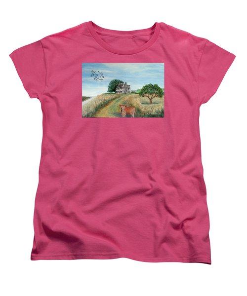 Mount Hope Plantation Women's T-Shirt (Standard Cut) by Lyric Lucas