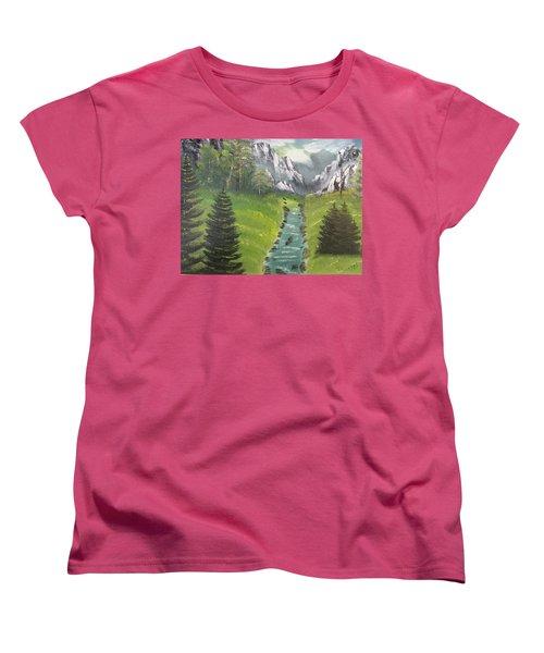 Mountain Meadow Women's T-Shirt (Standard Cut)