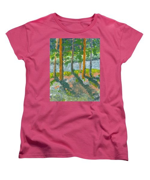 Mountain Valley Women's T-Shirt (Standard Cut) by Rodger Ellingson