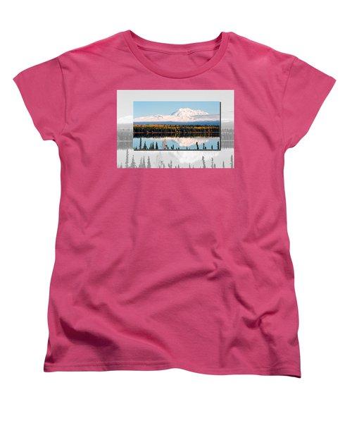 Women's T-Shirt (Standard Cut) featuring the photograph Mt. Drum - Alaska by Juergen Weiss