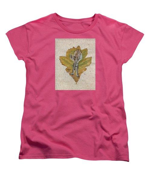 Mule Dear Fawn Women's T-Shirt (Standard Cut) by Ralph Root