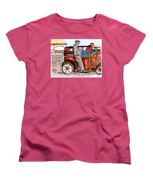 Murder On Hamilton Avenue, Red Hook, Brooklyn Women's T-Shirt (Standard Cut)