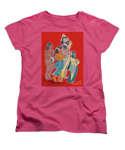 Musical Concert Women's T-Shirt (Standard Cut) by Ragunath Venkatraman