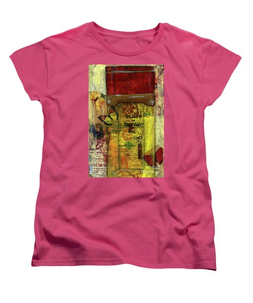 Women's T-Shirt (Standard Cut) featuring the painting Must De Cartier by P J Lewis