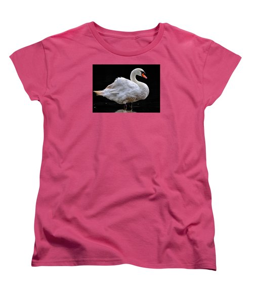 Women's T-Shirt (Standard Cut) featuring the photograph Mute Swan 3 by Brian Stevens