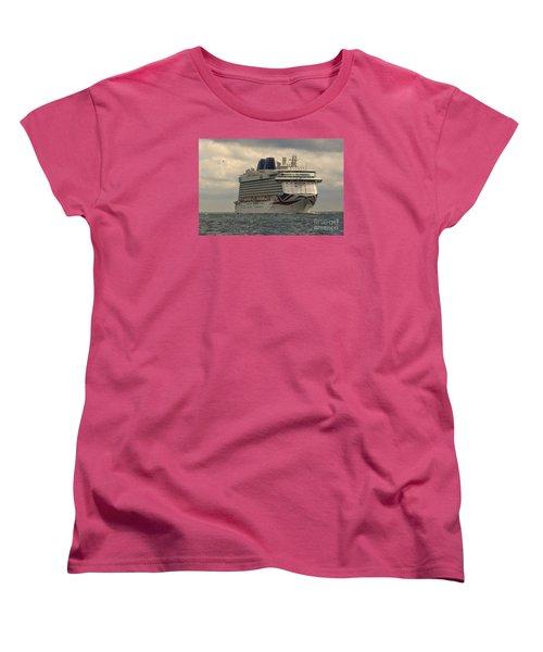 Mv Britannia 2 Women's T-Shirt (Standard Cut) by David  Hollingworth