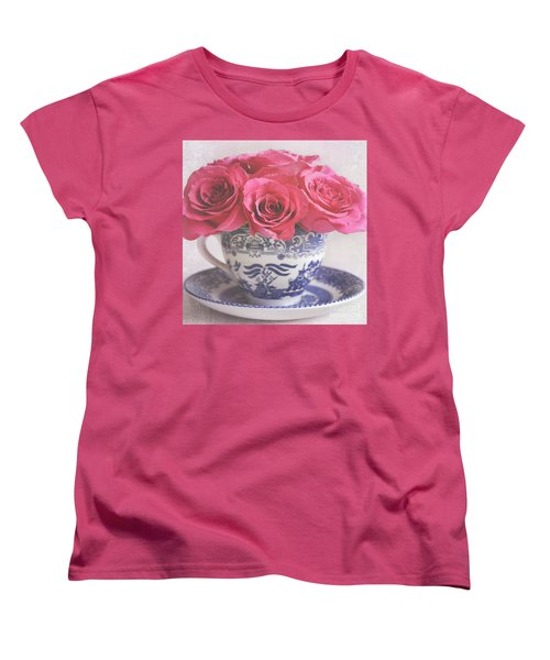 Women's T-Shirt (Standard Cut) featuring the photograph My Sweet Charity by Lyn Randle