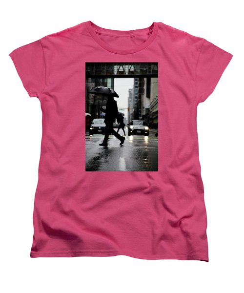 Women's T-Shirt (Standard Cut) featuring the photograph My World Hers Two by Empty Wall