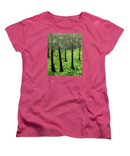 Mysterious Women's T-Shirt (Standard Cut) by Lisa Aerts