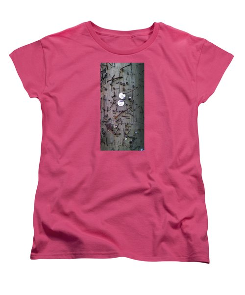 Women's T-Shirt (Standard Cut) featuring the photograph Nailed It by Steve Sperry