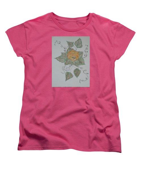 Nana Rose Is Here Women's T-Shirt (Standard Cut) by Sharyn Winters