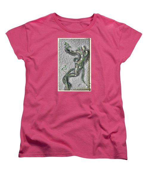 Nature And Man Women's T-Shirt (Standard Cut) by Darren Cannell
