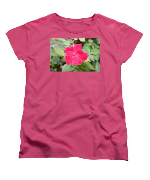 Women's T-Shirt (Standard Cut) featuring the photograph Nature - Colorful Flower Gifts  by Ray Shrewsberry