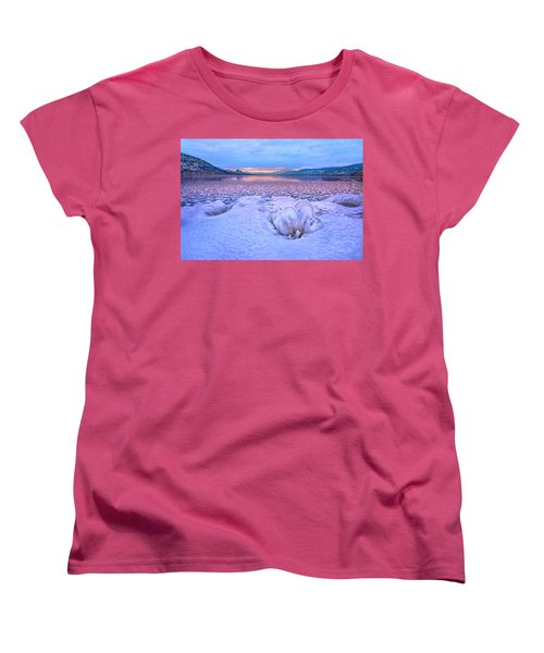 Women's T-Shirt (Standard Cut) featuring the photograph Nature's Sculpture by John Poon