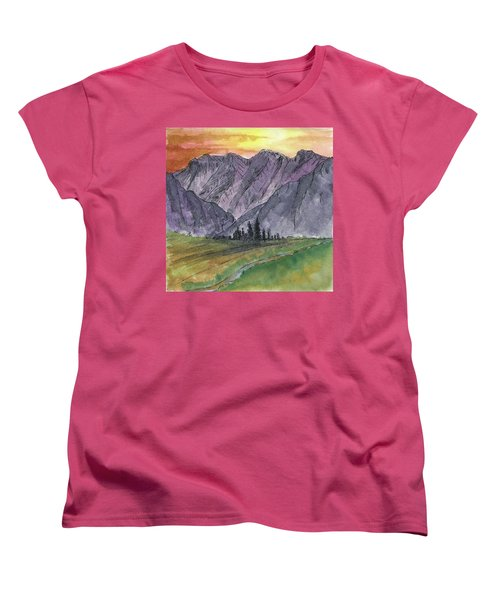 Near Canyon Entrance Women's T-Shirt (Standard Cut) by R Kyllo