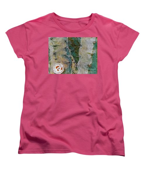 Women's T-Shirt (Standard Cut) featuring the photograph Needles In The Desert by Kathie Chicoine