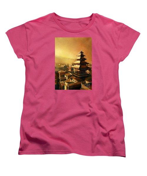 Nepal Temple Women's T-Shirt (Standard Cut)