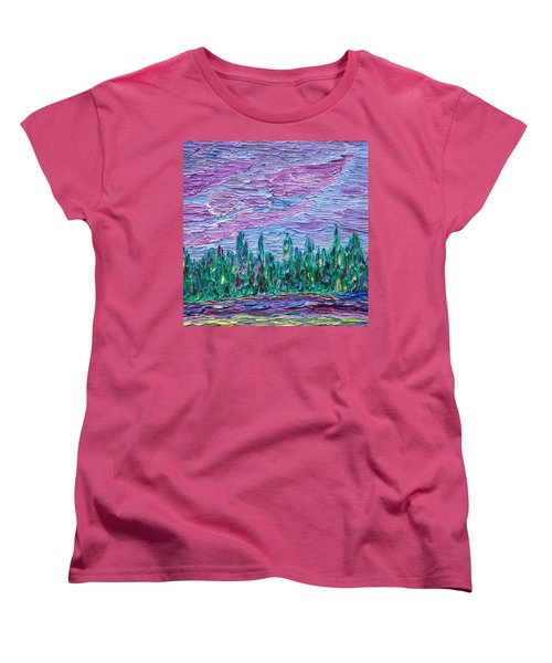 New Jersey Colors Women's T-Shirt (Standard Cut) by Vadim Levin