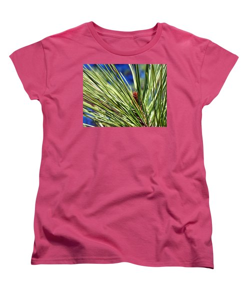 Women's T-Shirt (Standard Cut) featuring the photograph New Life by Betty Northcutt