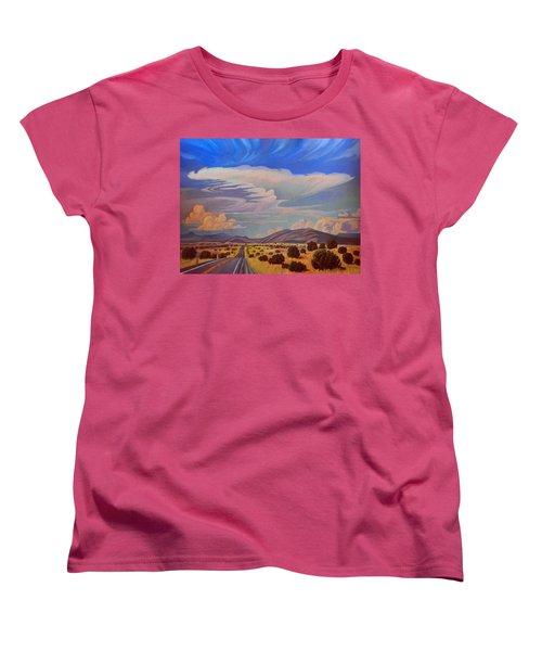 New Mexico Cloud Patterns Women's T-Shirt (Standard Cut)