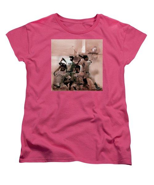 New York Baseball  Women's T-Shirt (Standard Cut) by Gull G