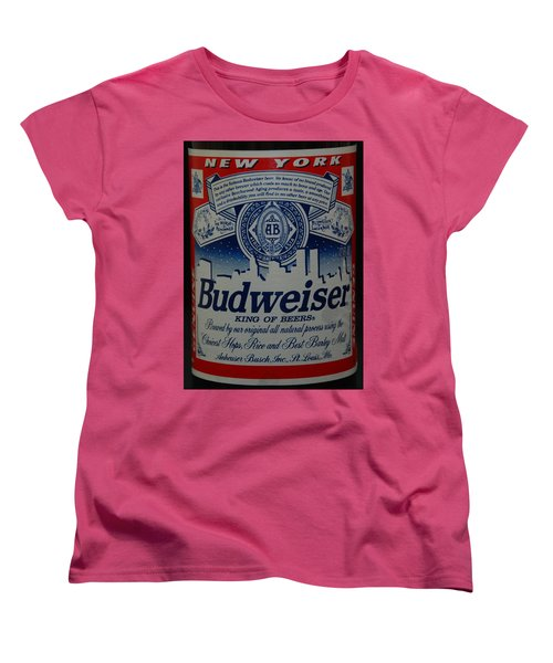 New York Bud Women's T-Shirt (Standard Cut) by Rob Hans