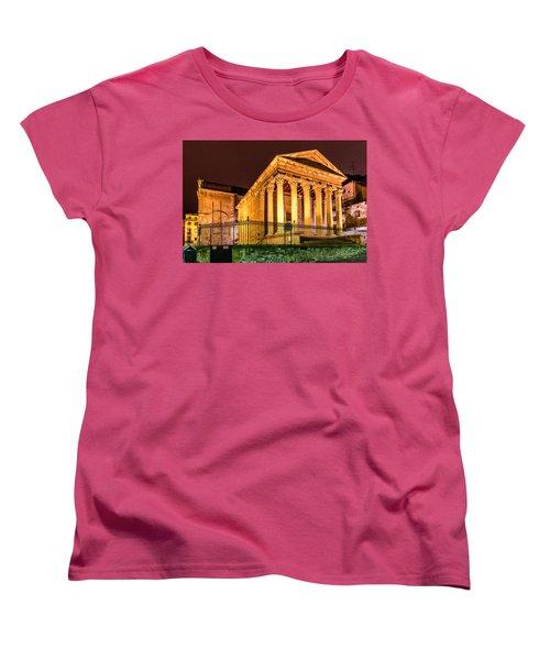 Night At The Roman Temple Women's T-Shirt (Standard Cut)