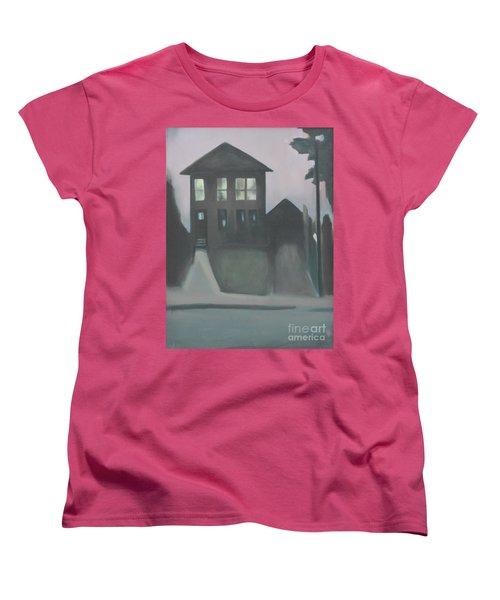 Night Glow Women's T-Shirt (Standard Cut) by Ron Erickson