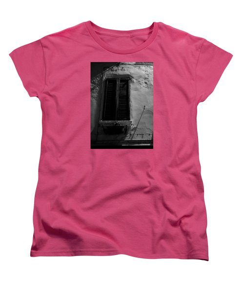 Night Shadows Women's T-Shirt (Standard Cut) by Cesare Bargiggia