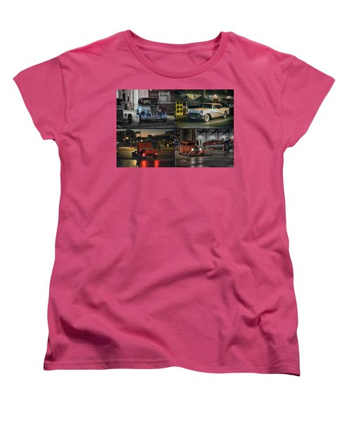 Nite Shots At Cure Women's T-Shirt (Standard Cut) by Bill Dutting