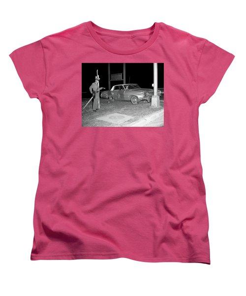 Nj Police Officer Women's T-Shirt (Standard Cut) by Paul Seymour