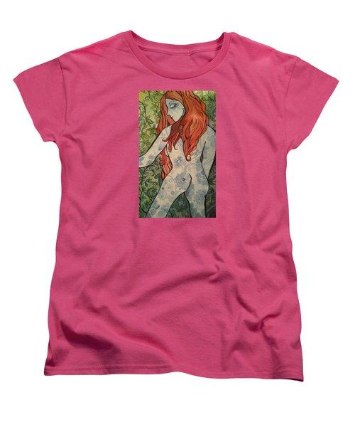 NO Women's T-Shirt (Standard Cut) by Claudia Cole Meek