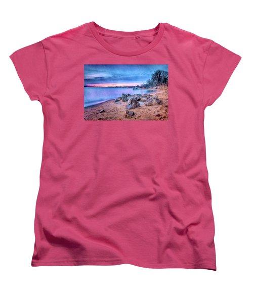 Women's T-Shirt (Standard Cut) featuring the photograph No Escape by Edward Kreis